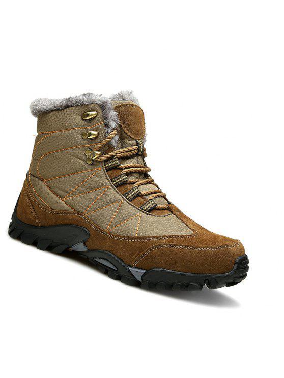 2362a3f4cc0288 Hommes Hiver Randonnée Bottes Montagne Escalade Rock En Plein Air Sport  Chaussures Trekking Sneakers 39-
