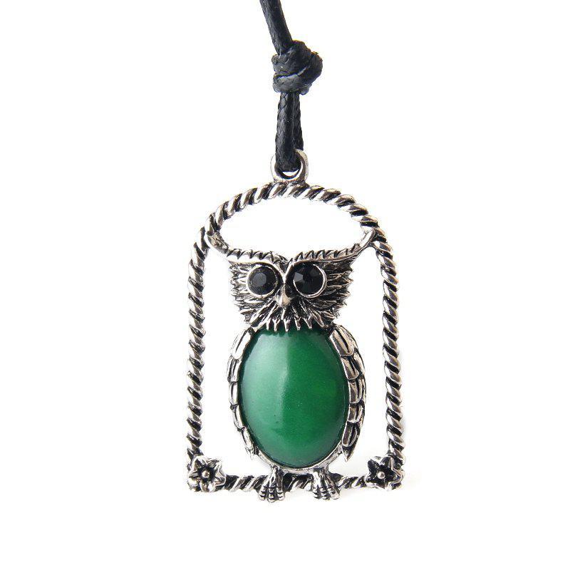 Fashion Owl Pendant Accessories Pendant Long Necklace