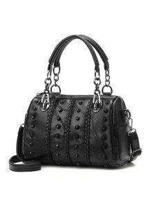 المحمولة برشام الإناث حقيبة استعادة طرق القديمة حقائب - أسود