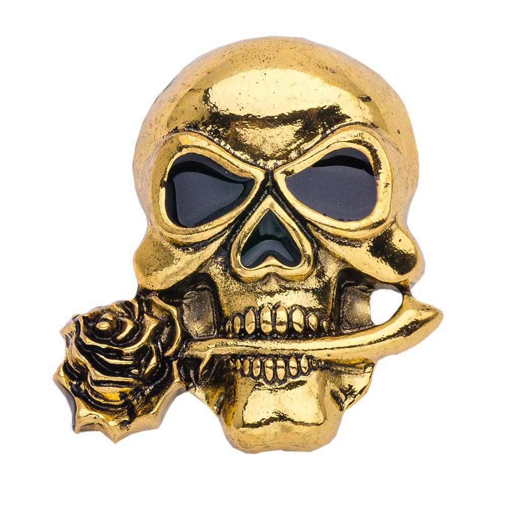Halloween Punk Alloy Skull Pin Brooch for Women Men Brooches Party Jewelry