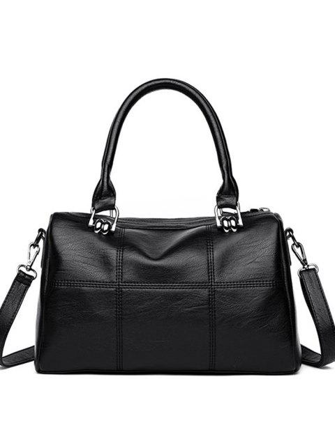 Fashion Handbag Handbag 2017 Winter New Simple Large Shoulder Bag Cross - Nero  Mobile