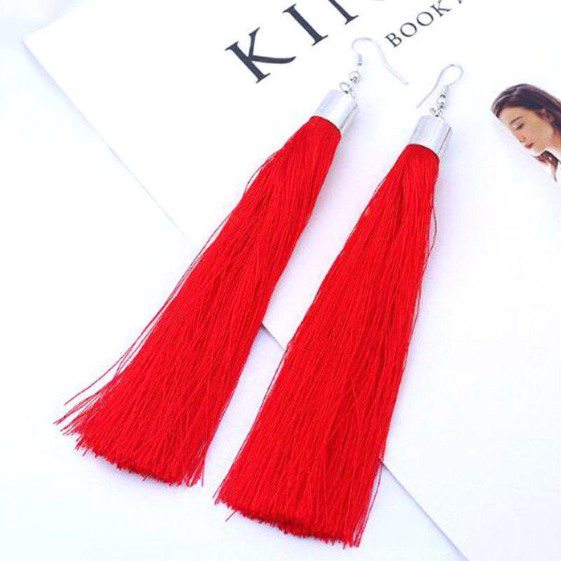 New Fashion Jewelry Trendy Classic Vintage Style Party Wedding Long Pendant Tassels Drop Earrings For Women