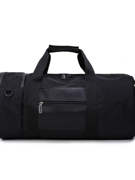 Herren Sport High-Capacity Handtasche - Schwarz