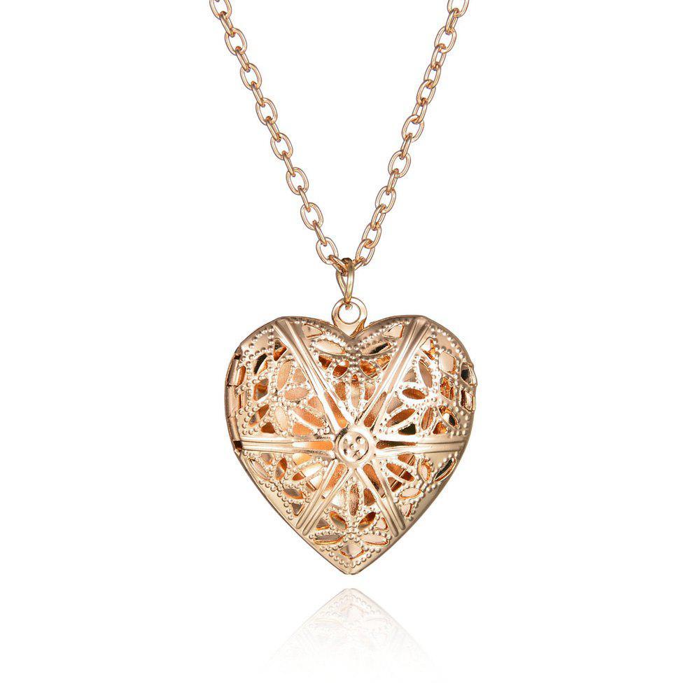 Heart Pendant Hollow Pendant Necklace