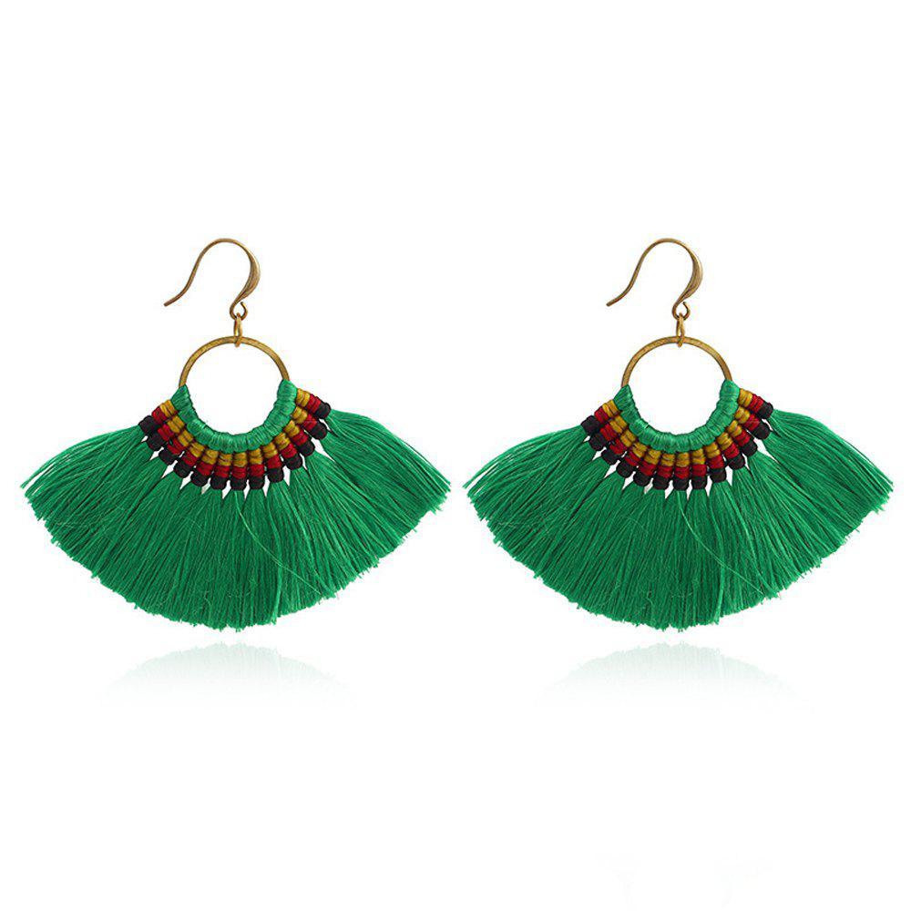 Fashion Boho Tassel Long Drop Earring Colorful Earring Jewelry for Women Earrings Handmade Gifts