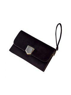 Korean Version Of Fashion Women's Wear Lock Temperament Bag - Black