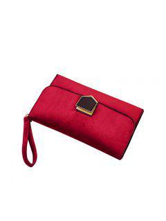 Koreanische Version Der Mode Damenbekleidung Lock Temperament Tasche - Rot