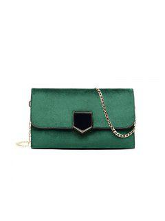 Korean Version Of Fashion Women's Wear Lock Temperament Bag - Green
