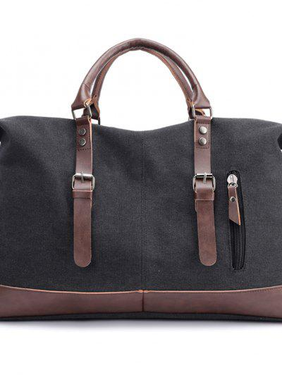 New Canvas Slanted Shoulder Sports Men's Bags - Black 50 X 22 X 37