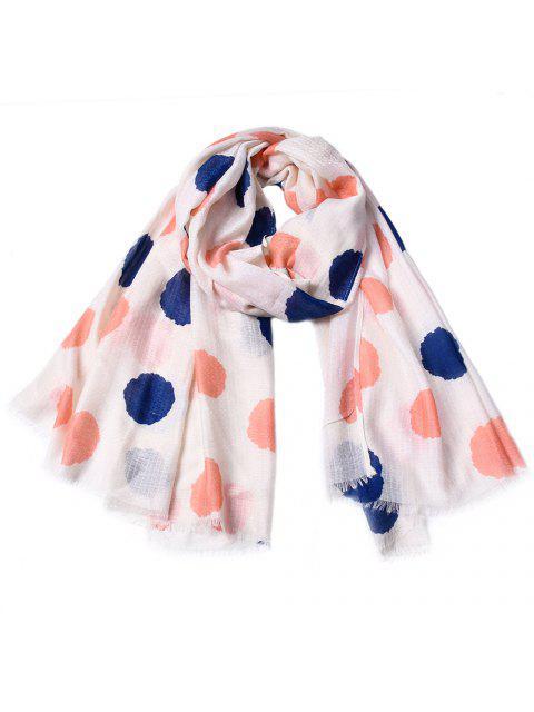 Bufanda impresa bordada del algodón de las mujeres del punto de Fashinable - Cerdo Rosa  Mobile