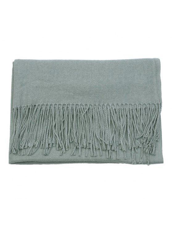 3e265046da Sciarpa di scialle di pashmina di cachemire di lana calda invernale - Blu  Colombiano