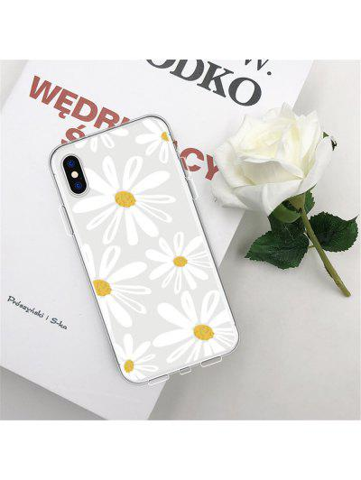 Daisy Series TPU Wear Proof Soft Protective Case for iPhone XS