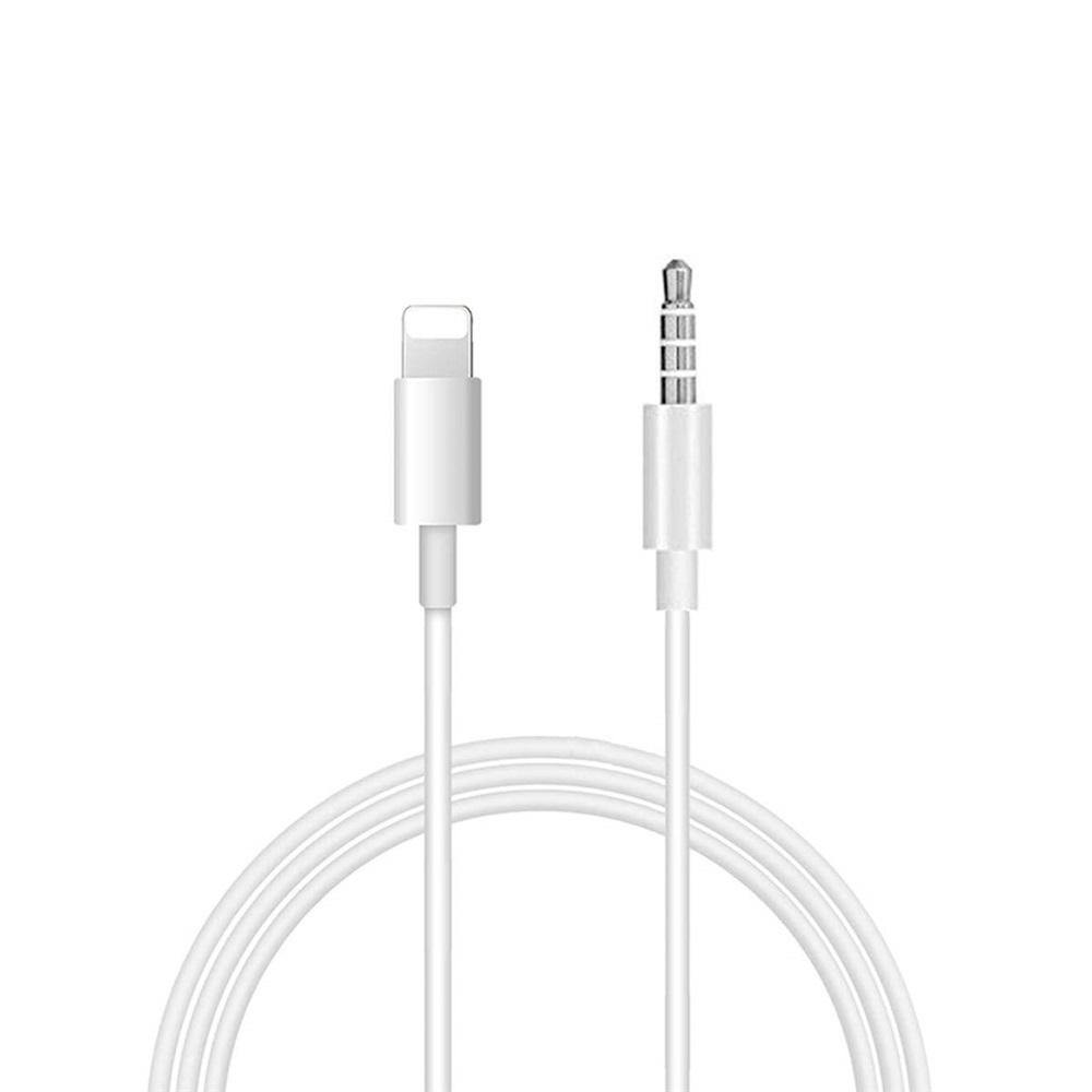 3.5mm Male Stereo Audio Aux Cable Compatible for iPhone X / XS Max/XR/1/8 Plus/8