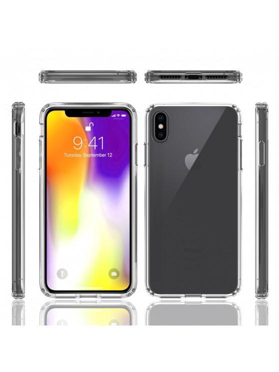 unique Acrylic Clear Full Cover Drop-Proof Phone Case for IPhone XR - TRANSPARENT