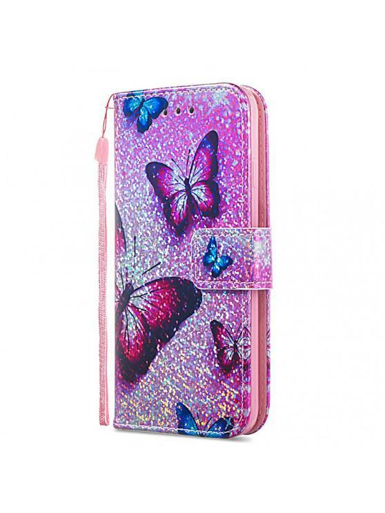 Luxury Glitter Leather Card Wallet Flip Phone Case for iPhone 6 / 6S  MULTI-A MULTI-B MULTI-C MULTI-D MULTI-E MULTI-F