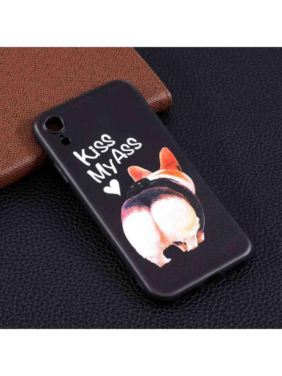ladies Ass Painting TPU Phone Case for iPhone Xr - MULTI