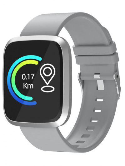 By 24 Large Color Screen Intelligent Bracelet Smart Watch - Platinum