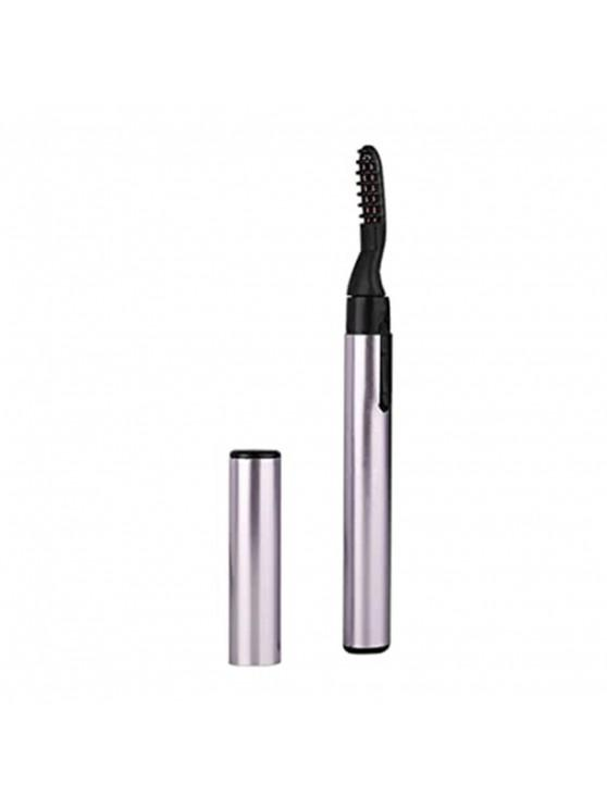 lady Quick Heating Long Lasting Electronic EyeLashes Curling Comb - PURPLE