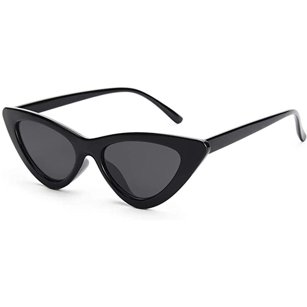 Sexy Cat Eye Sunglasses Women Brand Designer Mirror Black Triangle Sun Glasses